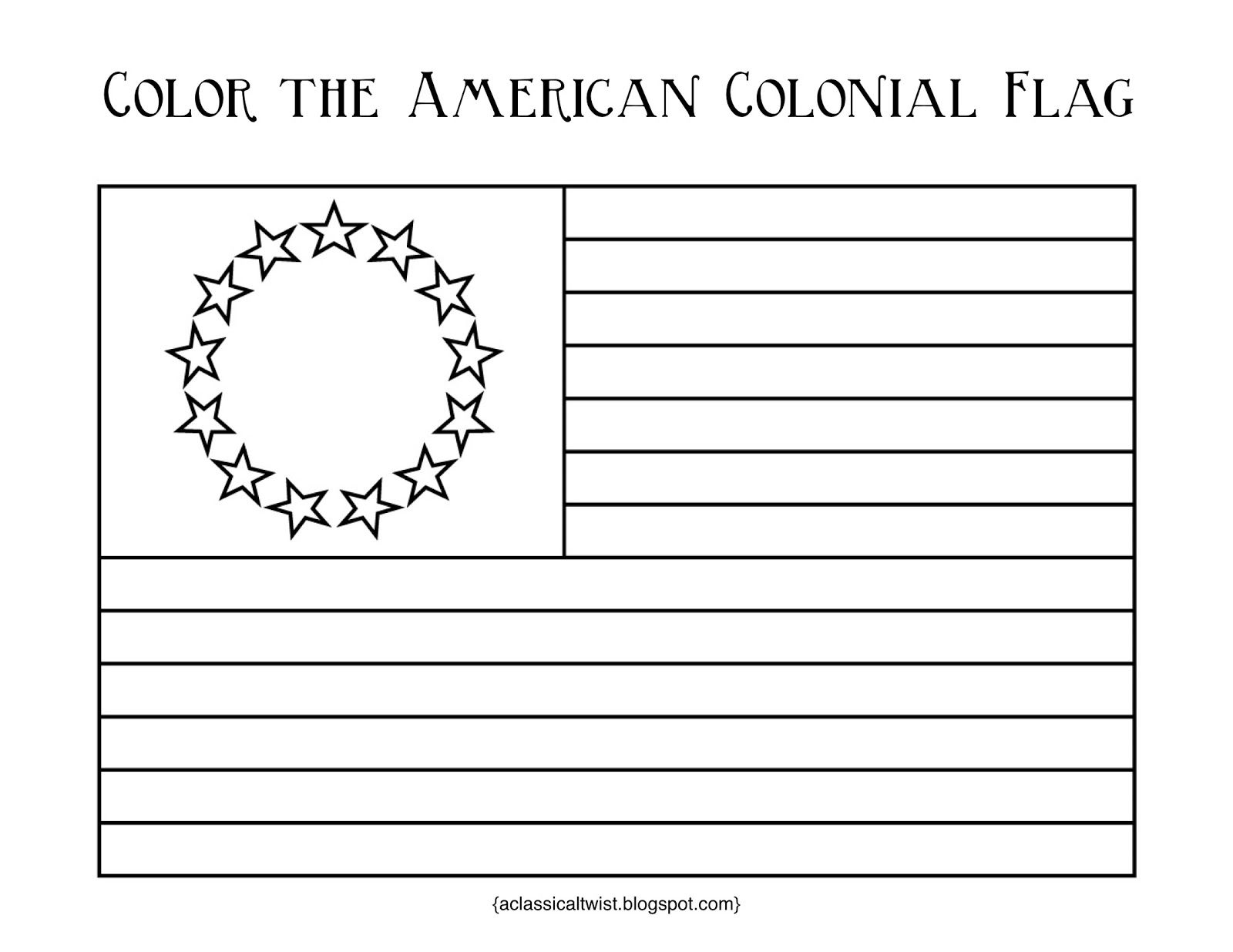 Homeschooling With A Classical Twist Original 13 Colonies