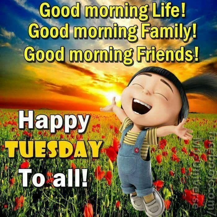Good Morning Life! Good Morning Family! Good Morning