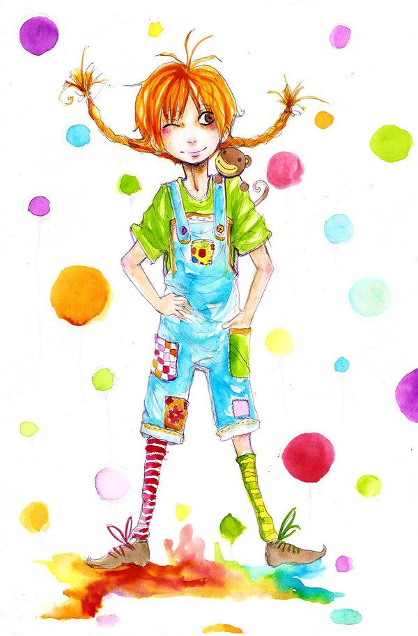 Pippi Longstocking Illustration By FaQy On DeviantART