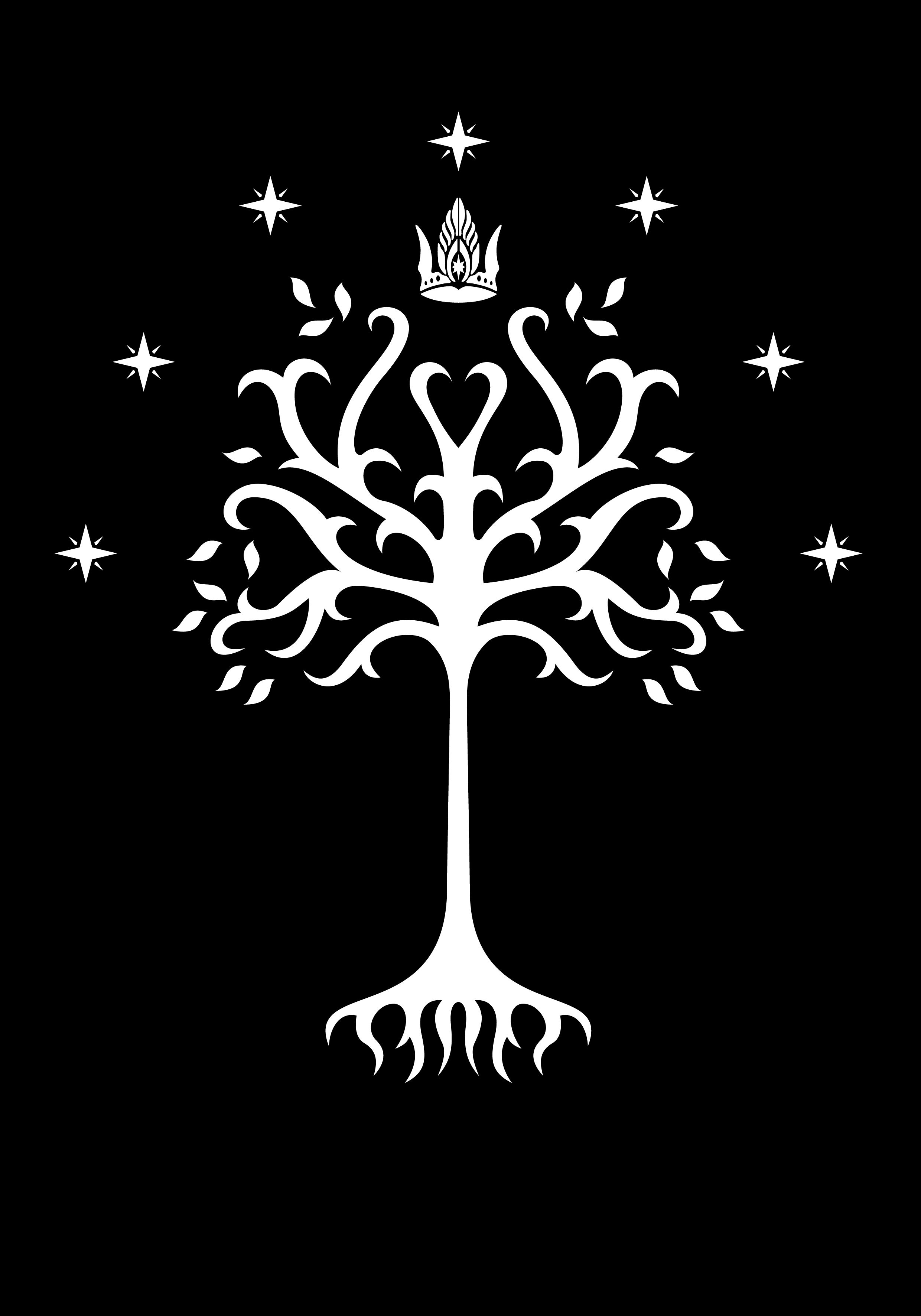 White Tree of Gondor from the Peter Jackson movie