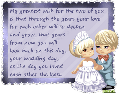 To my niece, Jessica, and her soontobe husband, Brandon