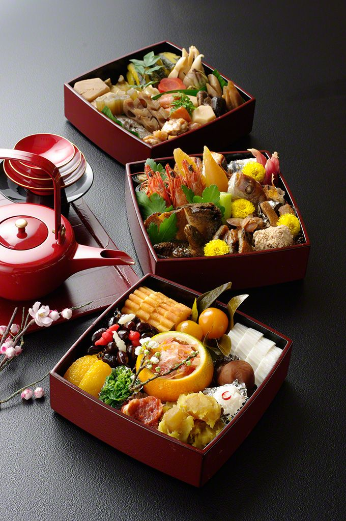 """Osechi"" are traditional Japanese New Year foods. The"