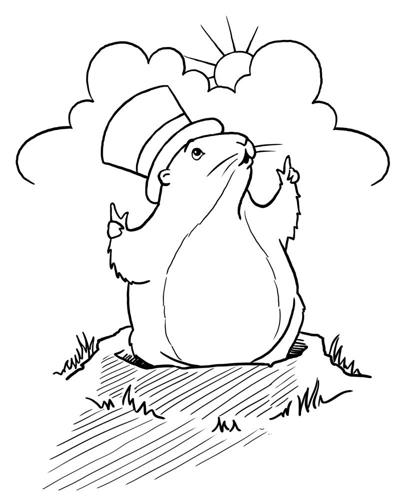 Groundhog D Y Col G Sheet Preschool Groundhog D Y P Terest
