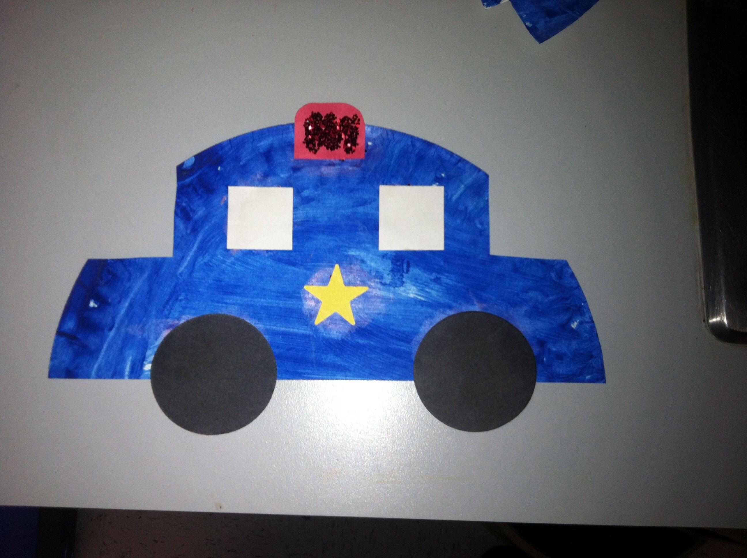 Police Car Craft