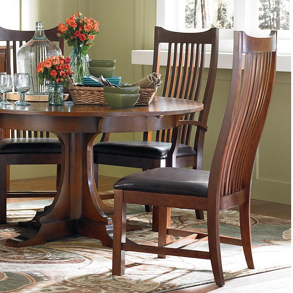 Grove Park Spindle Back Side Chair By Bassett Sale