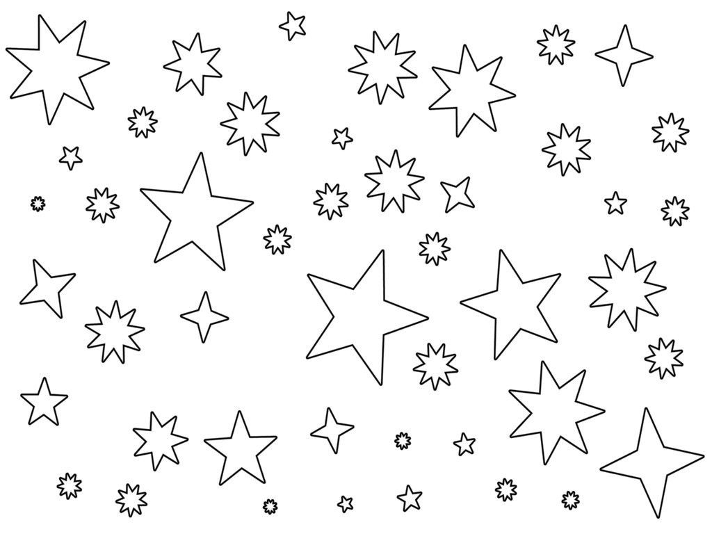 Images Of Lineart Night Sky