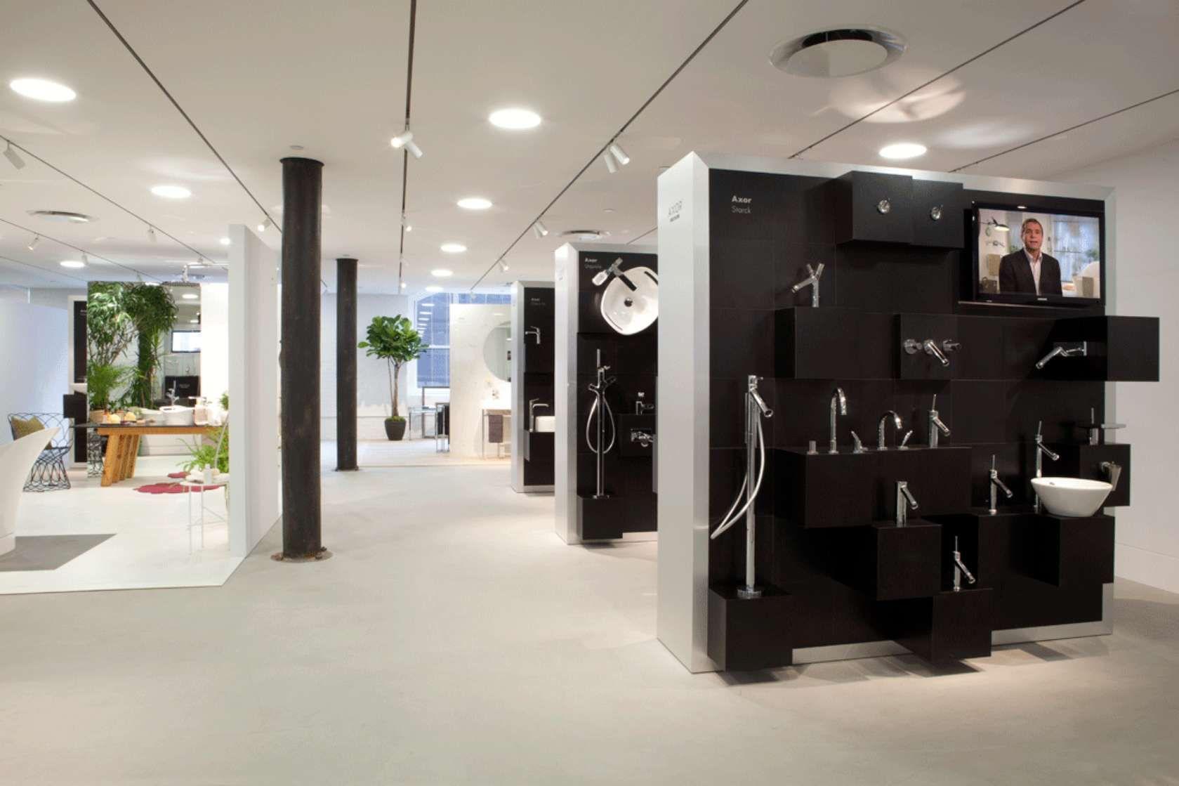 axor nyc showroom | display | pinterest | showroom, display and