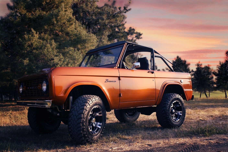 1968 Bronco in Orange Ford broncos Pinterest Ford bronco
