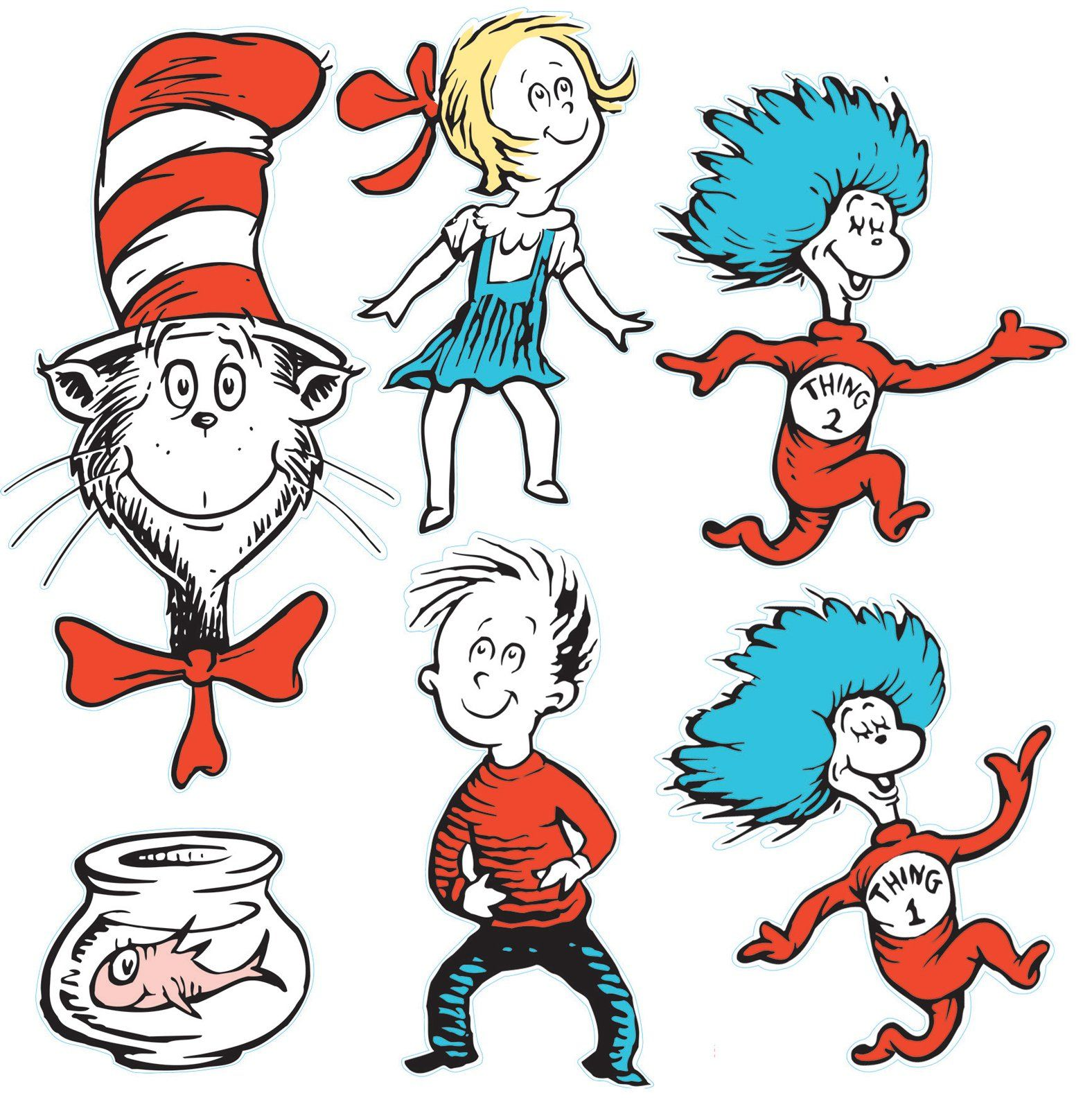 Gallery For Gt Dr Seuss Characters Fish In Bowl