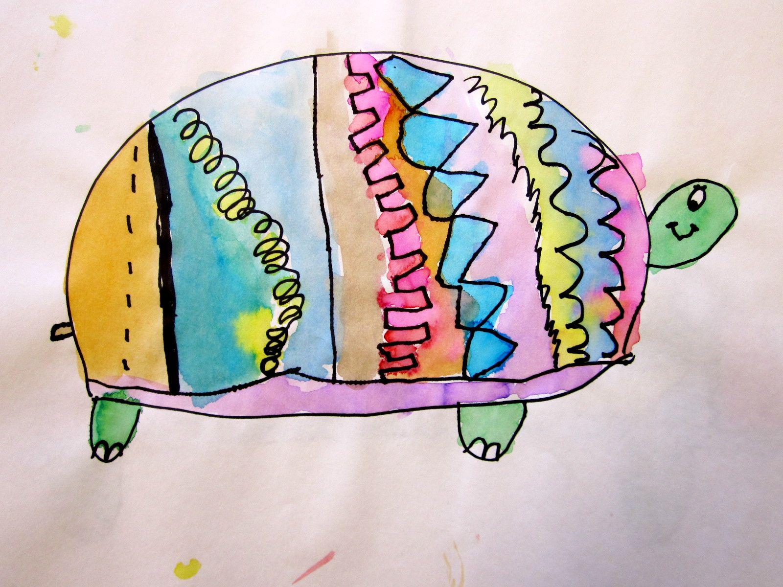 What We Do In Kindergarten Art Class