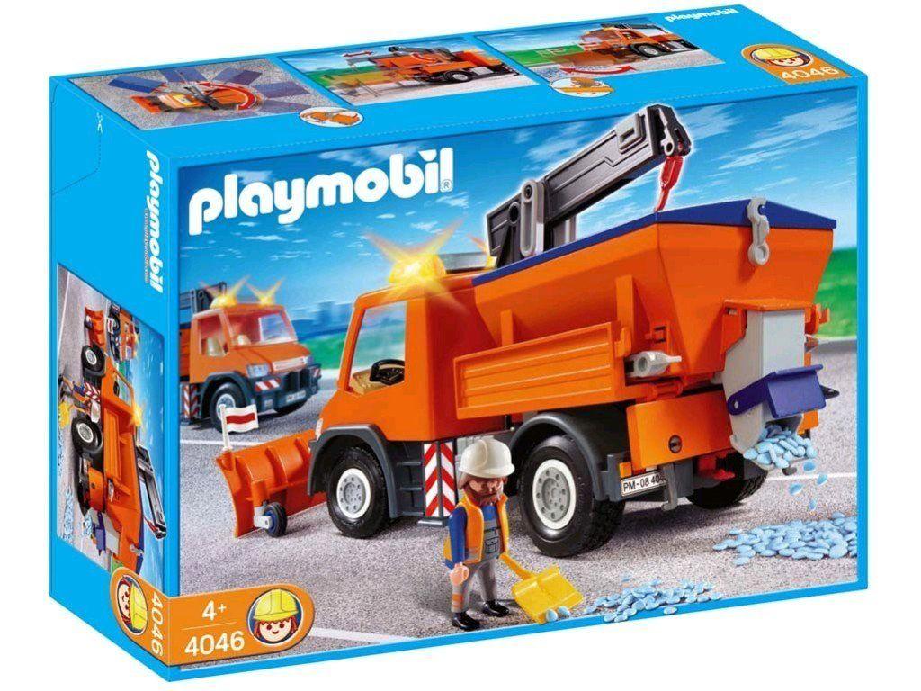 Playmobil 4046 Road Maintenance Truck Amazon.co.uk