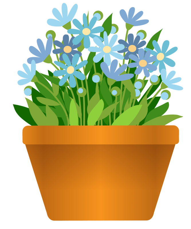 POTTED FLOWERS CLIP ART POTTED PLANTS CLIP ART