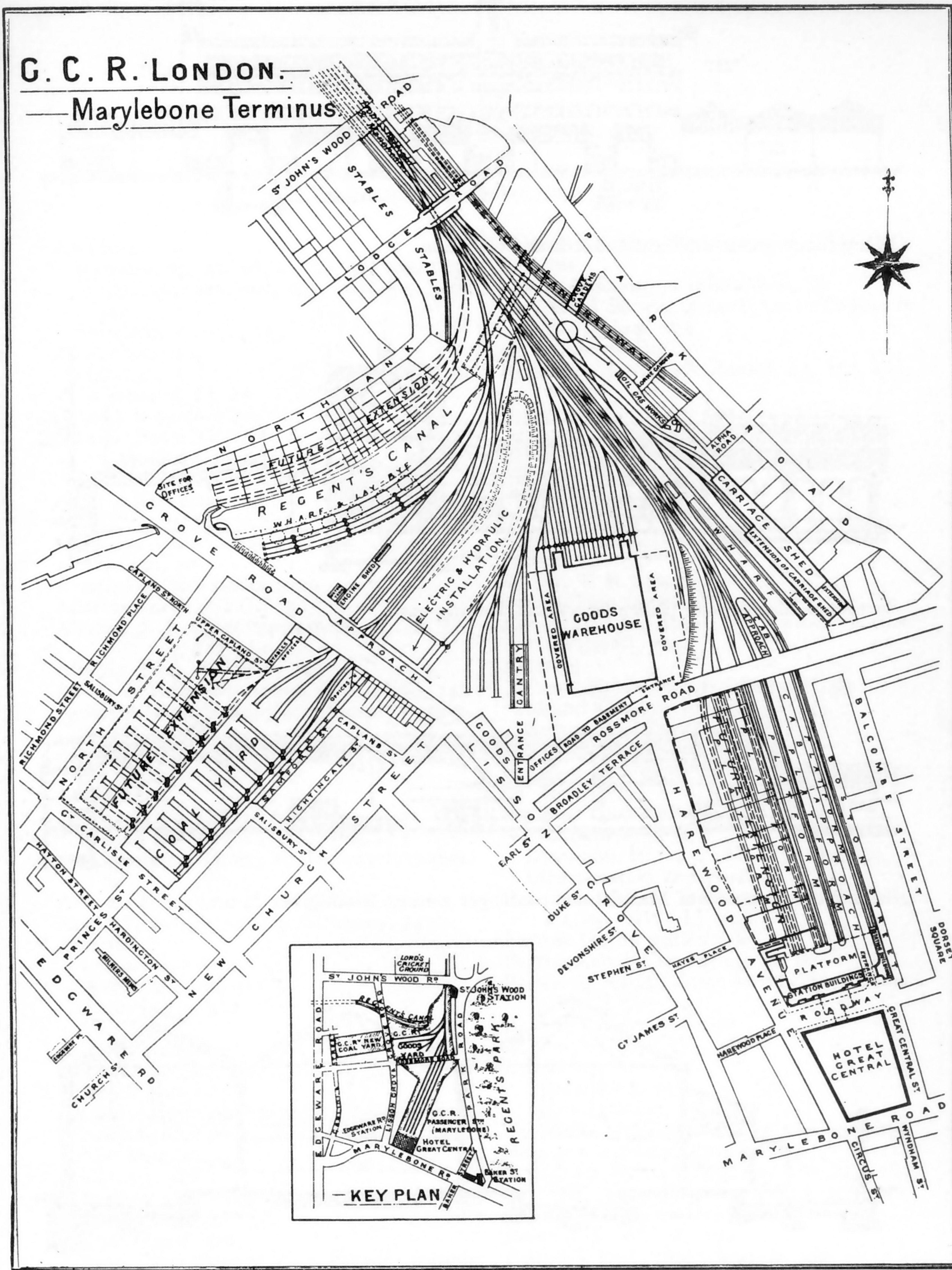 Bath Green Park Station Track Plans