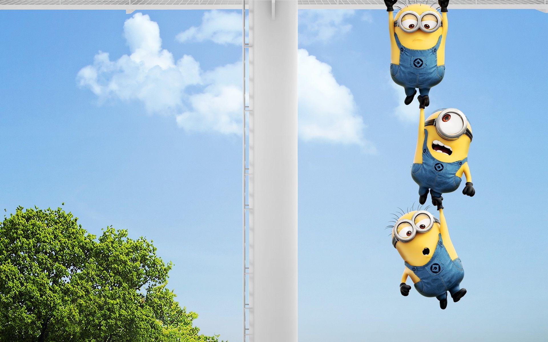 Cute Minions Despicable Me Movie HD Desktop Wallpaper