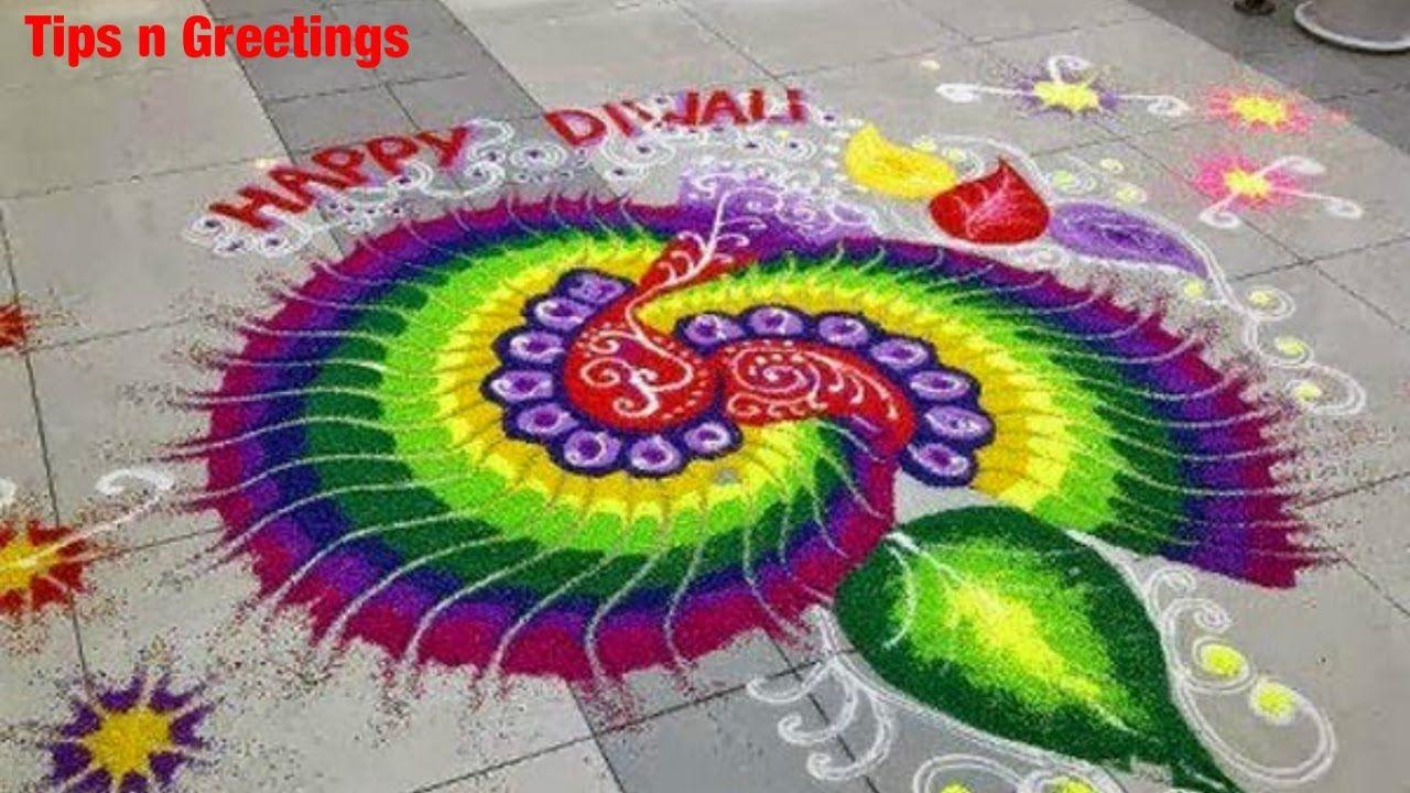 Beautiful Easy Rangoli Design 2016 Diwali Special