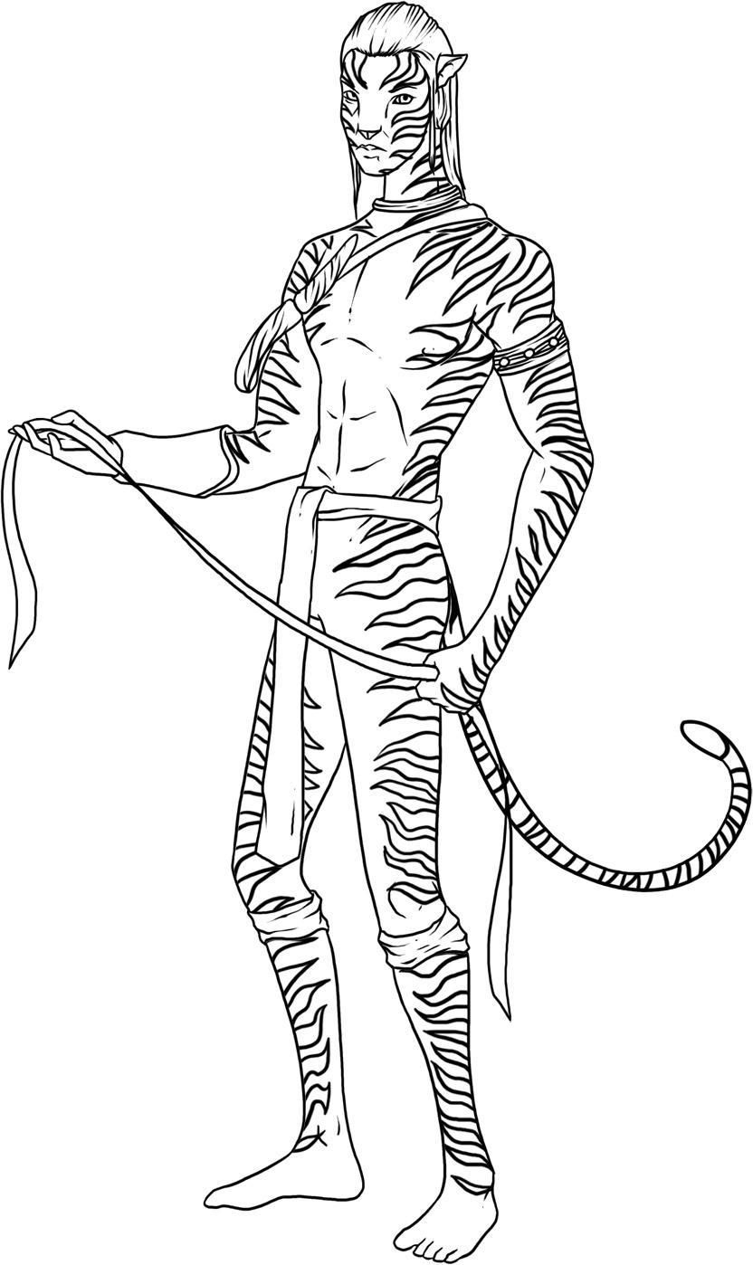 avatar movie coloring pictures Coloring pages