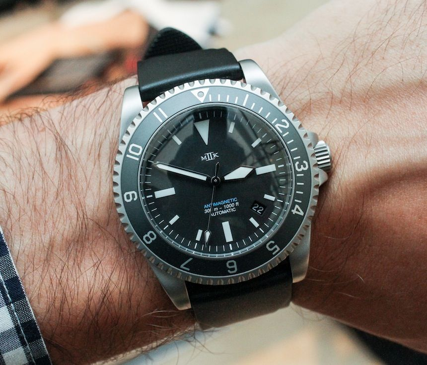 """The MK II Watches Fulcrum """"American Milsub"""" Dive Watch by"""