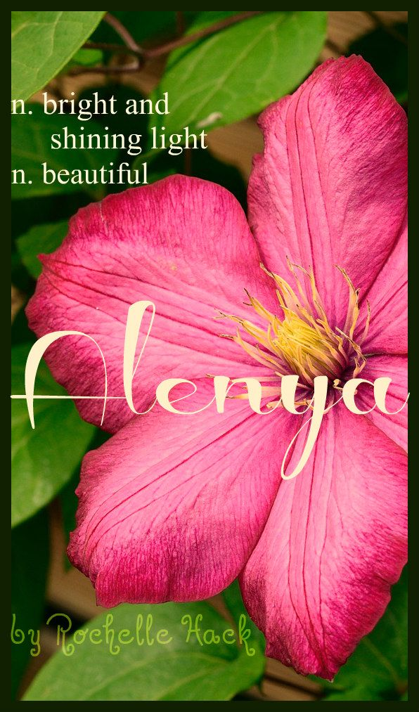 Baby Girl Name Alenya. Meaning Beautiful; Bright and