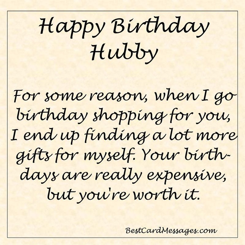 Funny Birthday Message for your Husband. birthday wishes