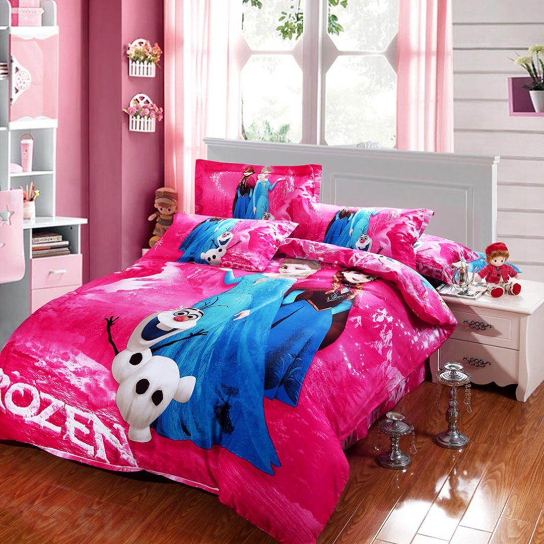 Disney Frozen Bedding Set 100 Cotton 5pcs