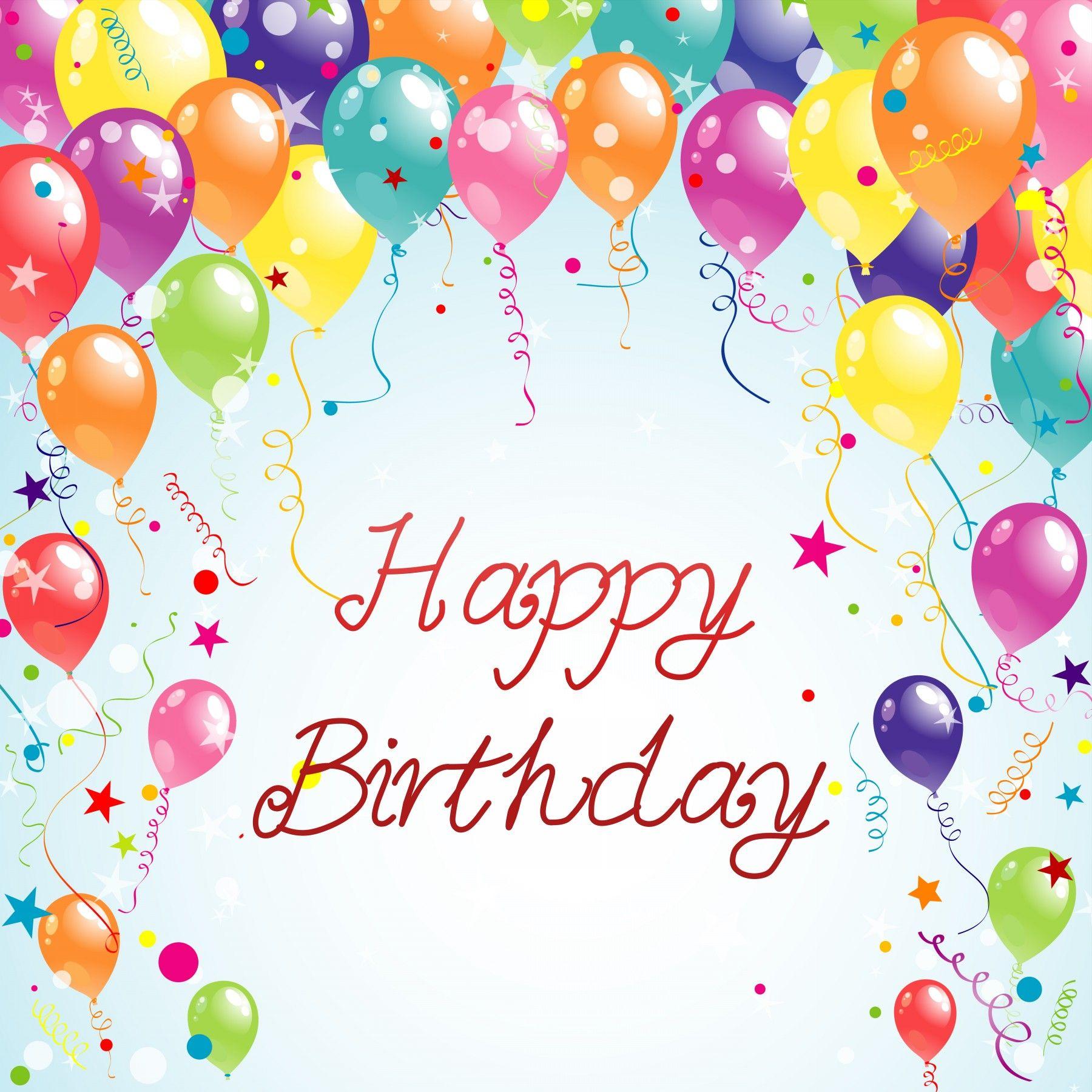 birthday cards images Happy Birthday Pinterest