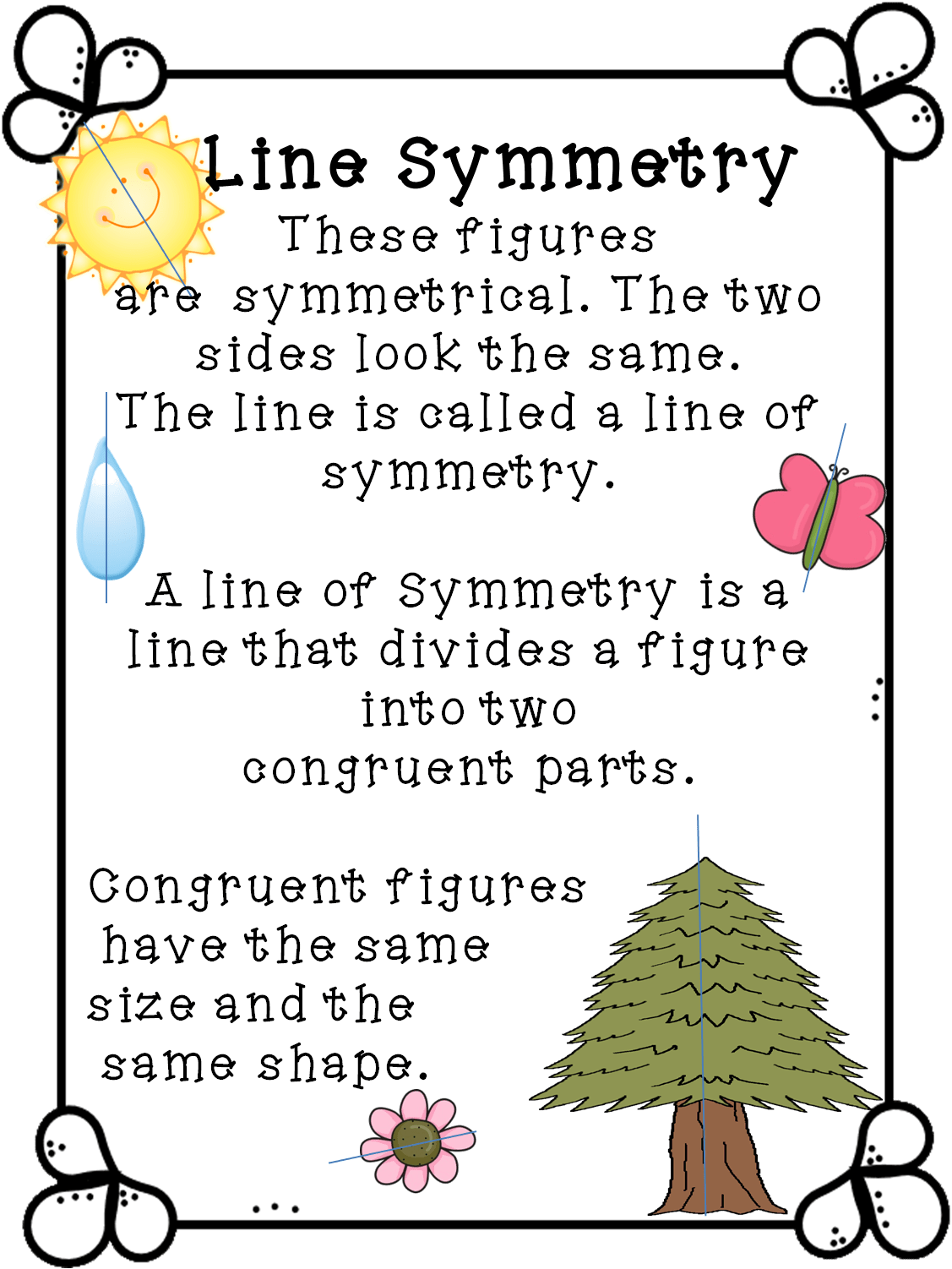 Line Symmetry Real Life