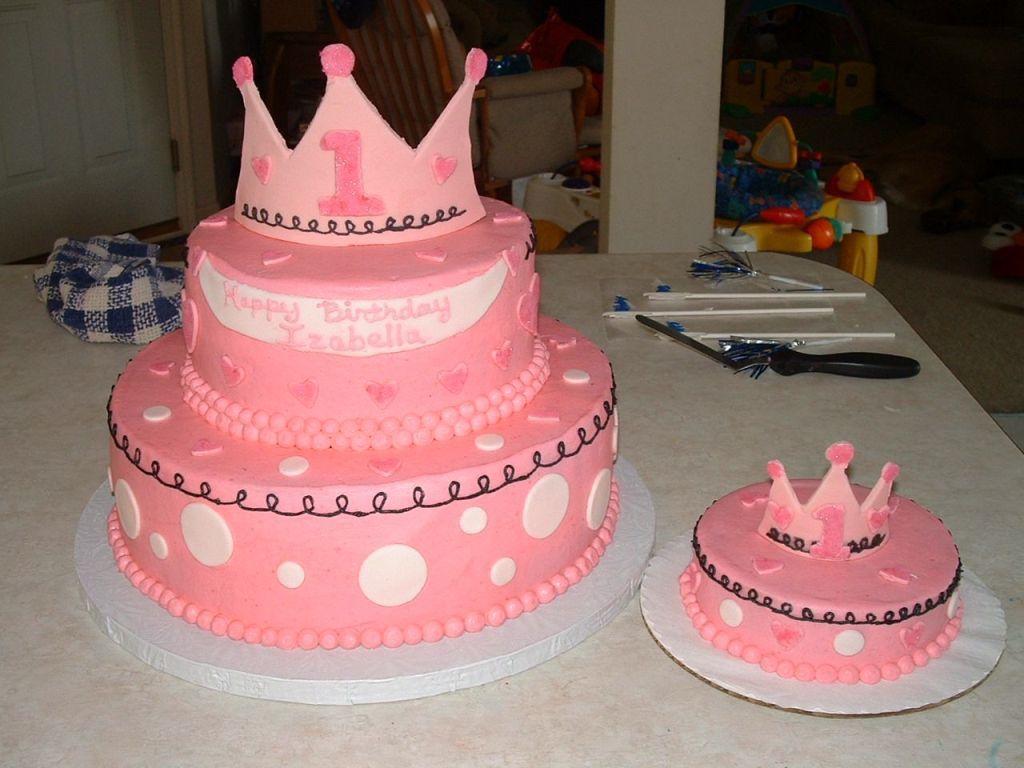Homemade Ideas For 1st Birthday Cakes At Walmart