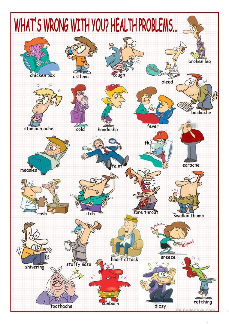 What's Wrong with You? (Health Problems Picture Dictionary
