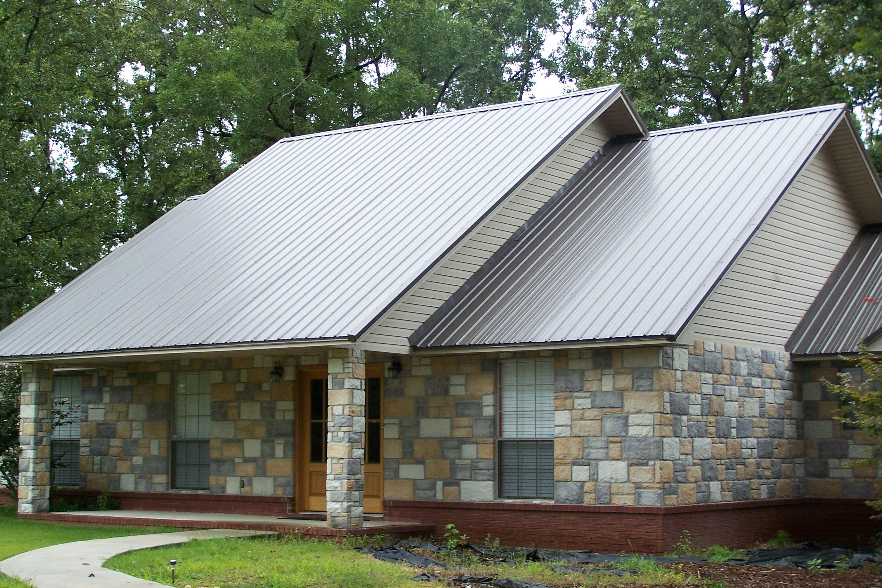 Beautiful House Plans With Metal Roofs Metal Roofing