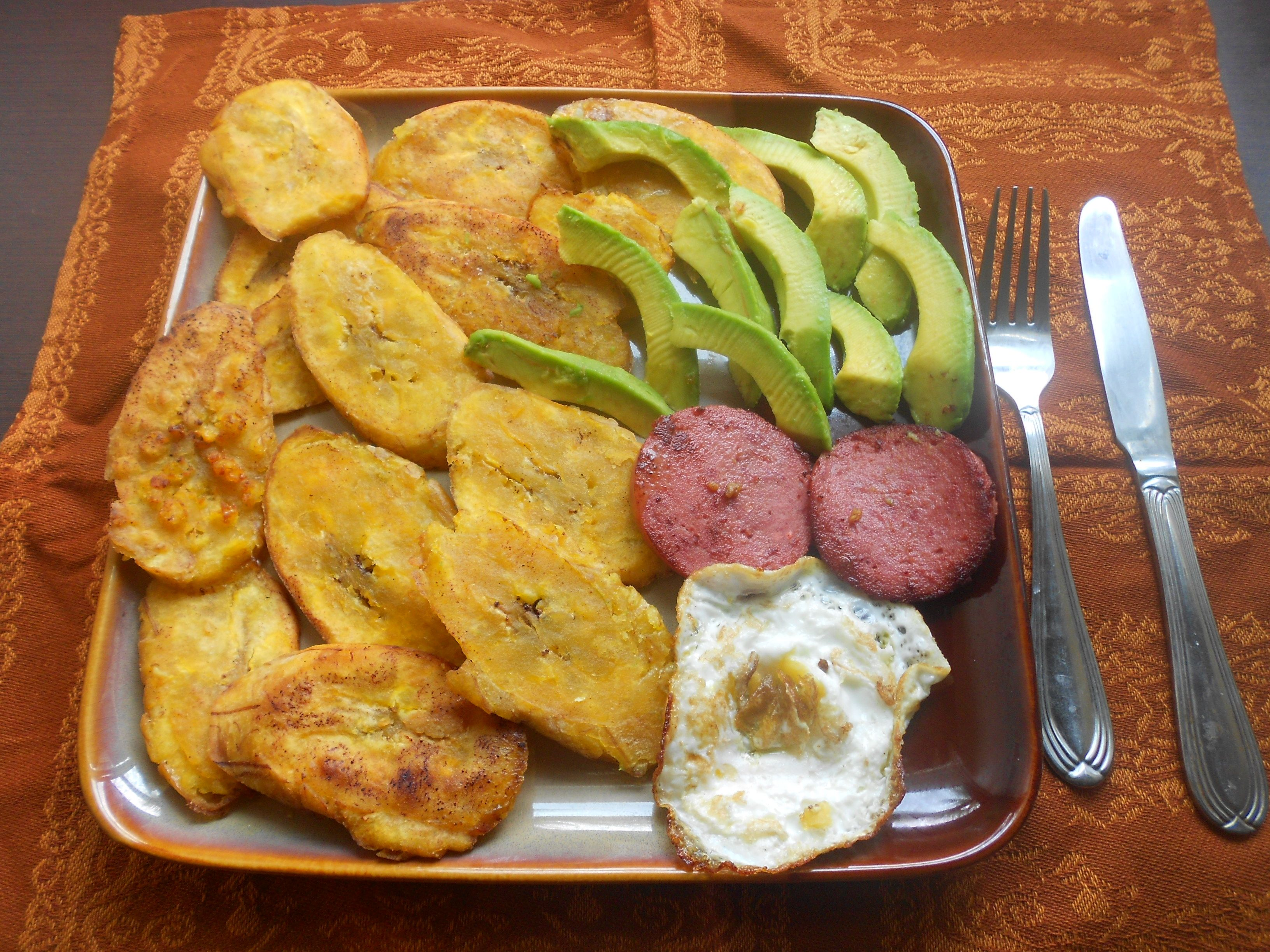 Desayuno AL ESTILO DOMINICANO Pinterest