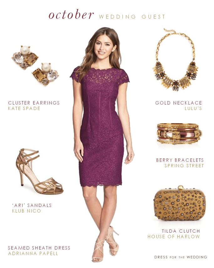 What to Wear to an October Wedding Weddings, Clothes and