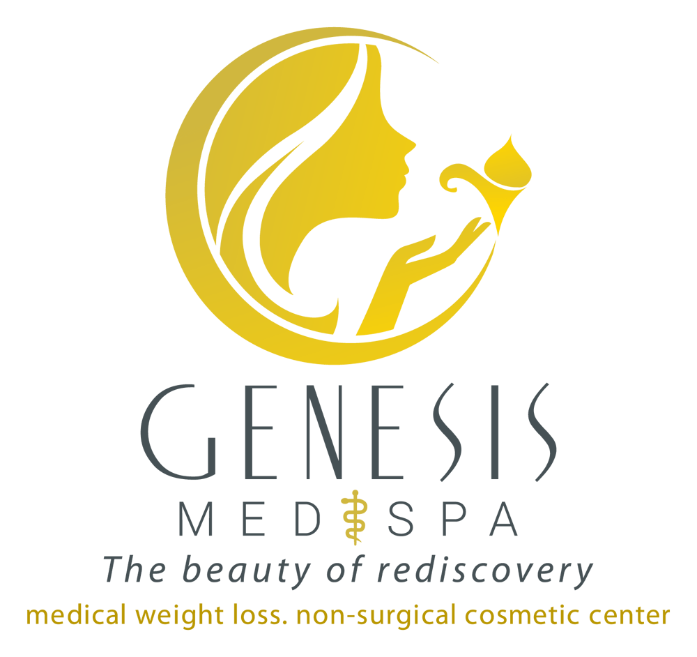 Beauty logo for a med and spa company. The beauty of