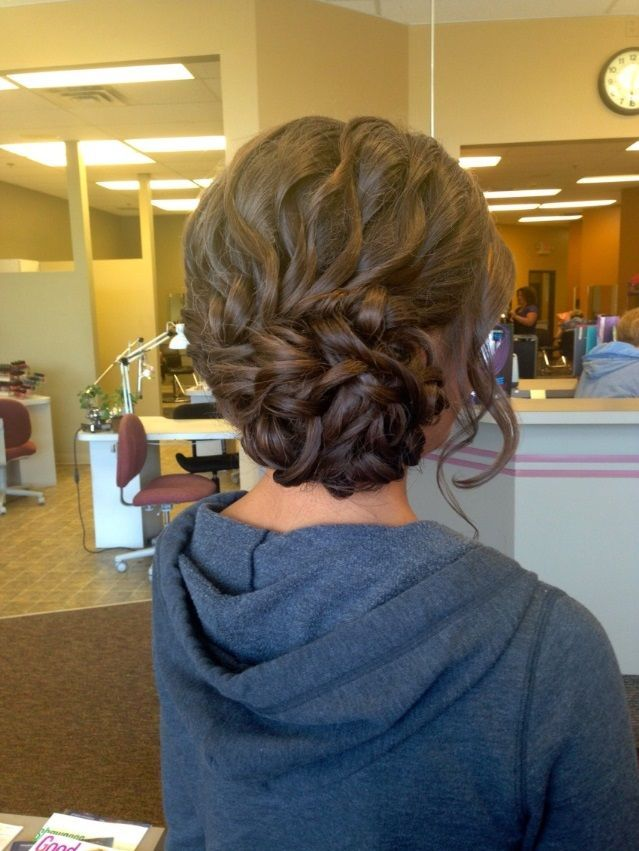 Homecoming Updo Hairstyles On Pinterest