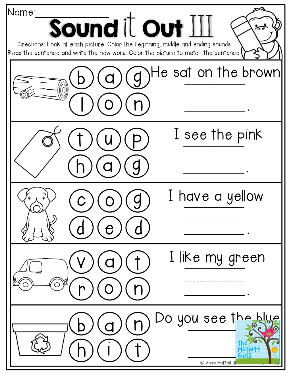 Worksheet Sounding Out Words Worksheets Grass Fedjp