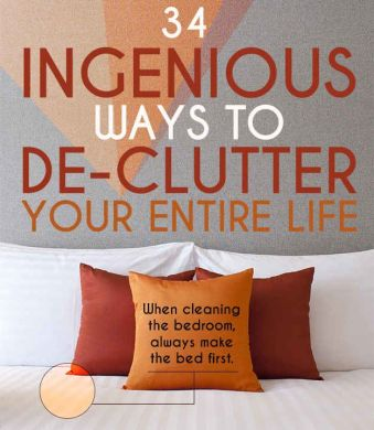 34 Ingenious Ways To De Clutter Your Entire Life   Organizing Maniac     34 Ingenious Ways To De Clutter Your Entire Life