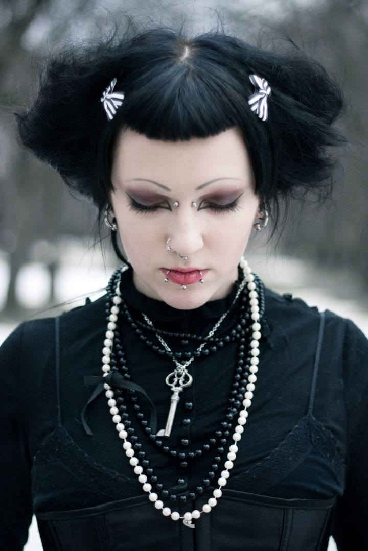 Lovely Gothic Hairstyles Hairstyle Ideas