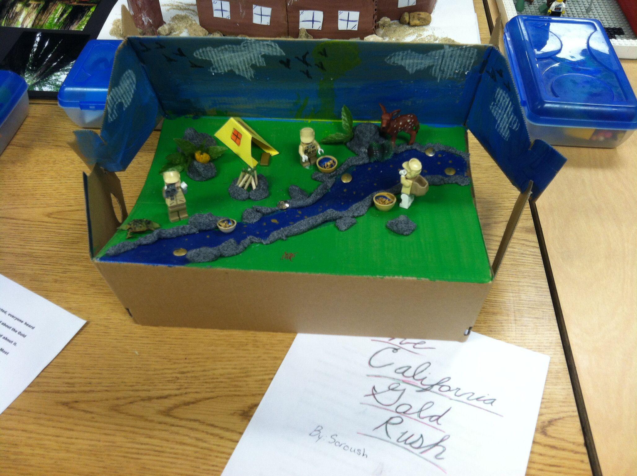 4th Grade California Landmark Project