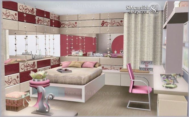 My Sims 3 Blog Tutti Frutti Donation Bedroom Set Free Clutter By