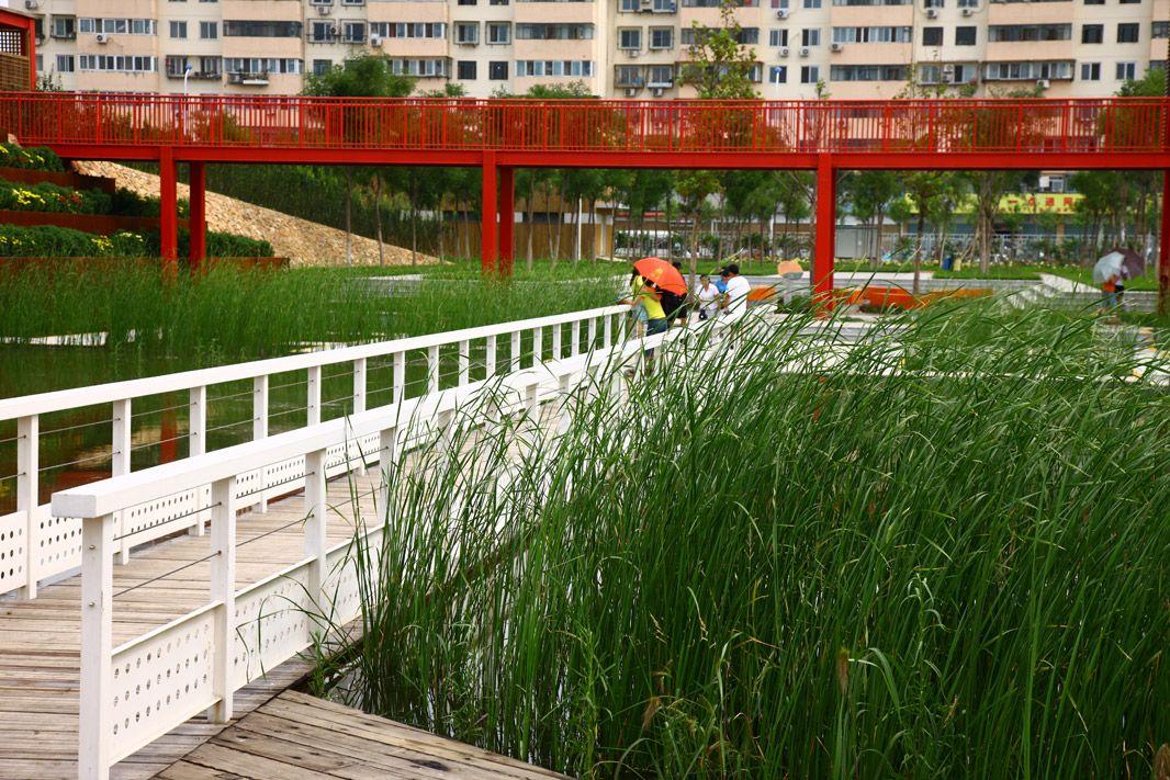 Project Tianjin Qiaoyuan Wetland Park Designer Turenscape