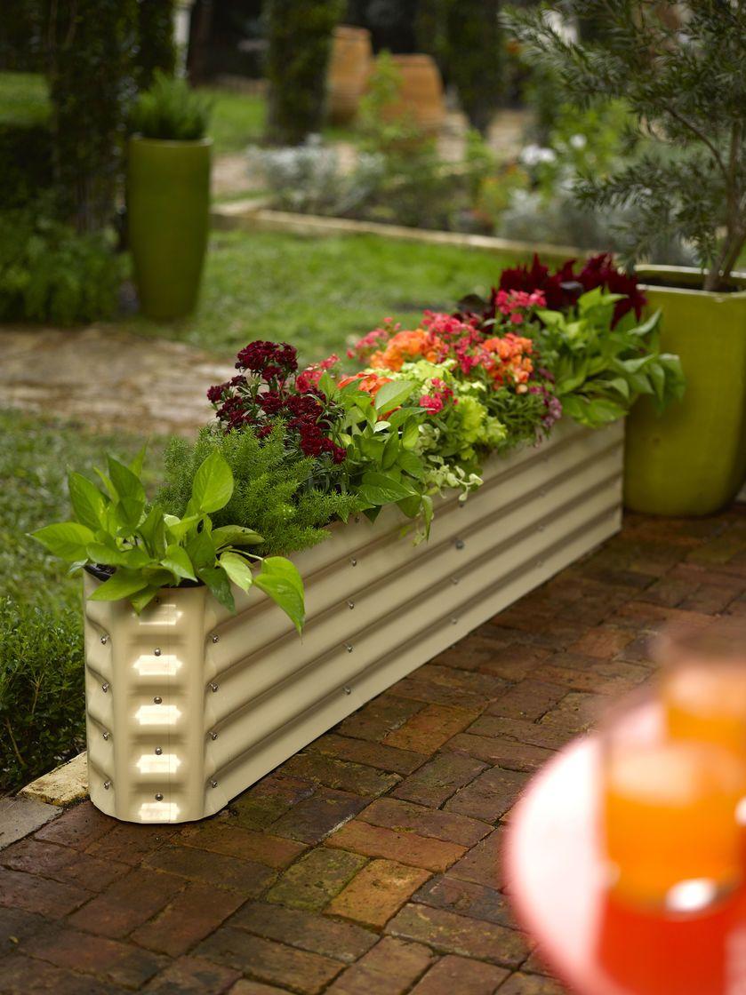 Metal Raised Garden Beds Modular up to 10 Shapes Yard