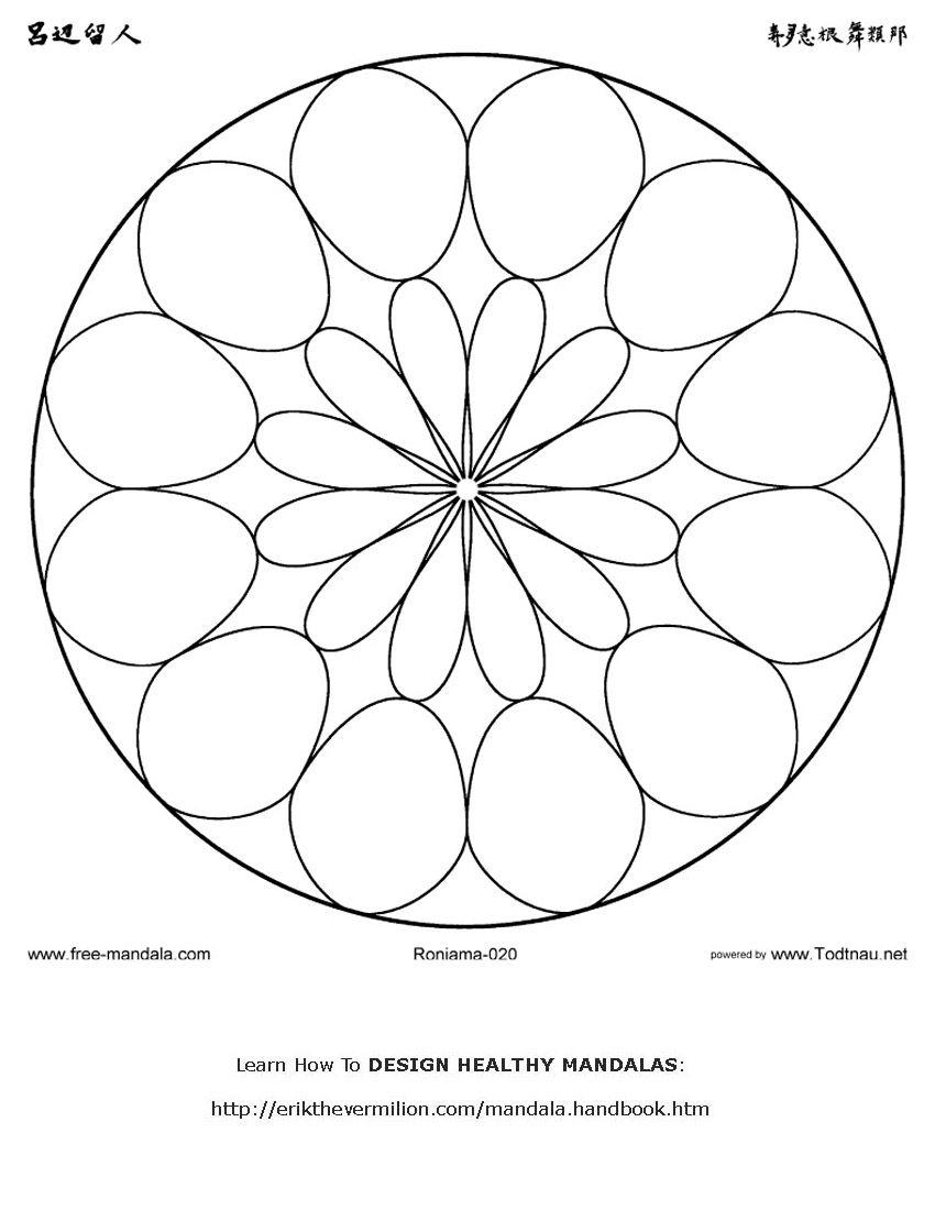 Mandala Mandalas To Color Pinterest Mandala Mandalas And