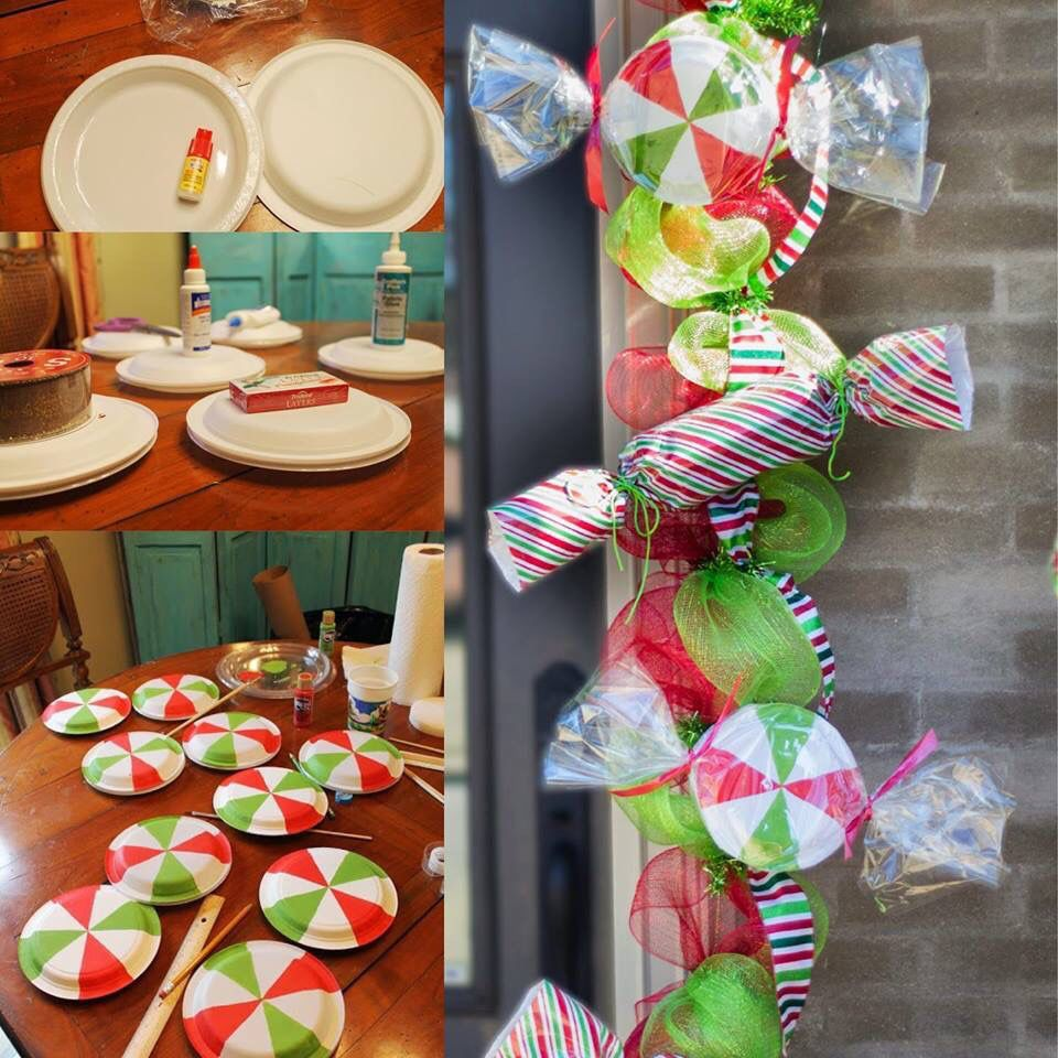 diy candy garland PARTY/PROPS Pinterest Garlands