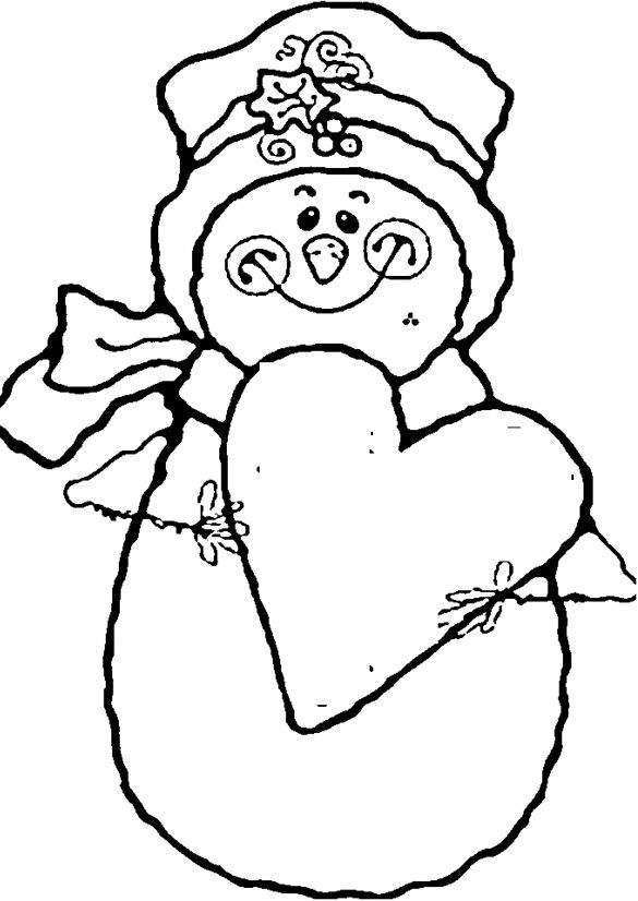 snowman coloring pages and coloring on pinterest