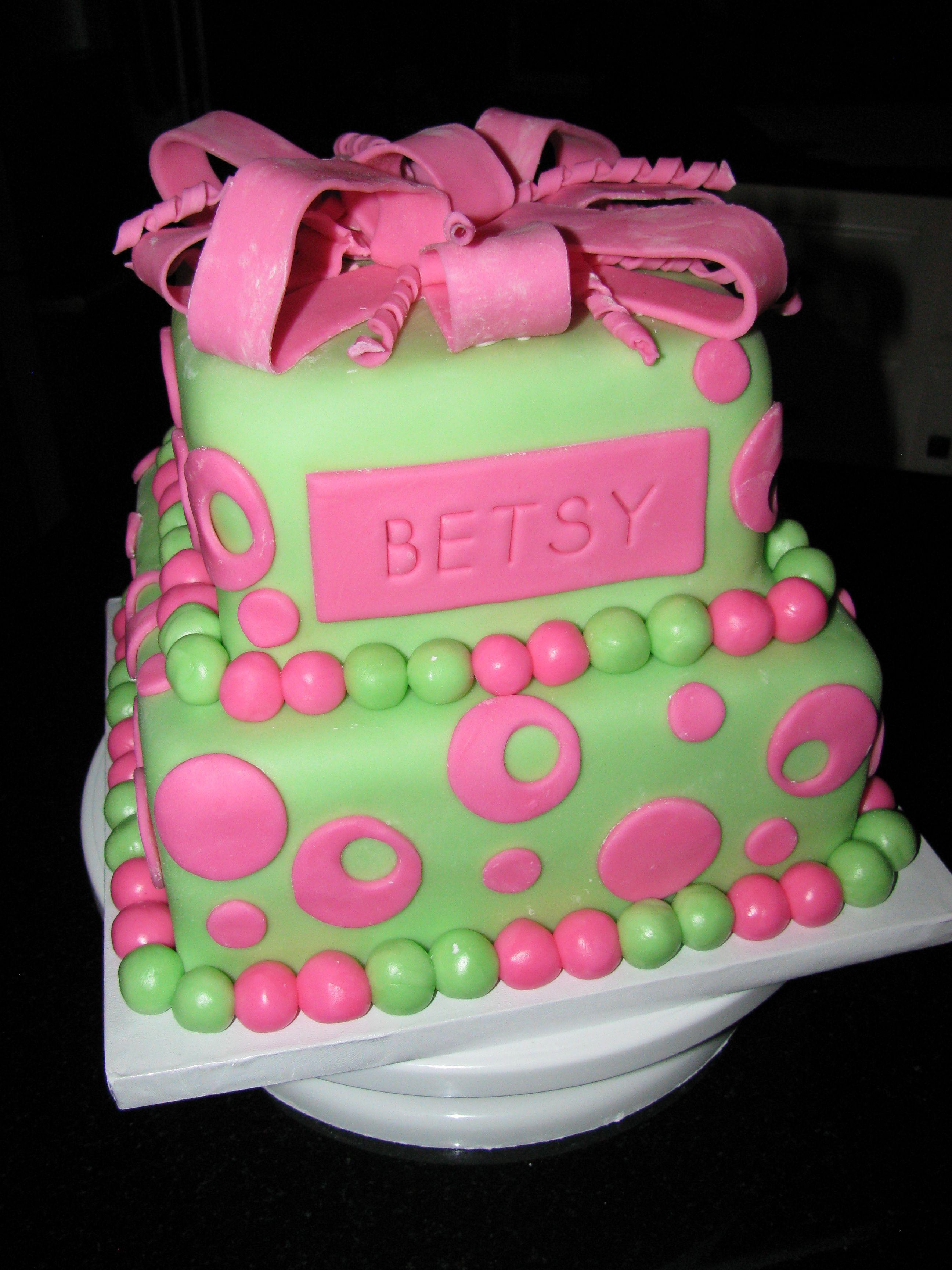 Teenage Birthday Cake