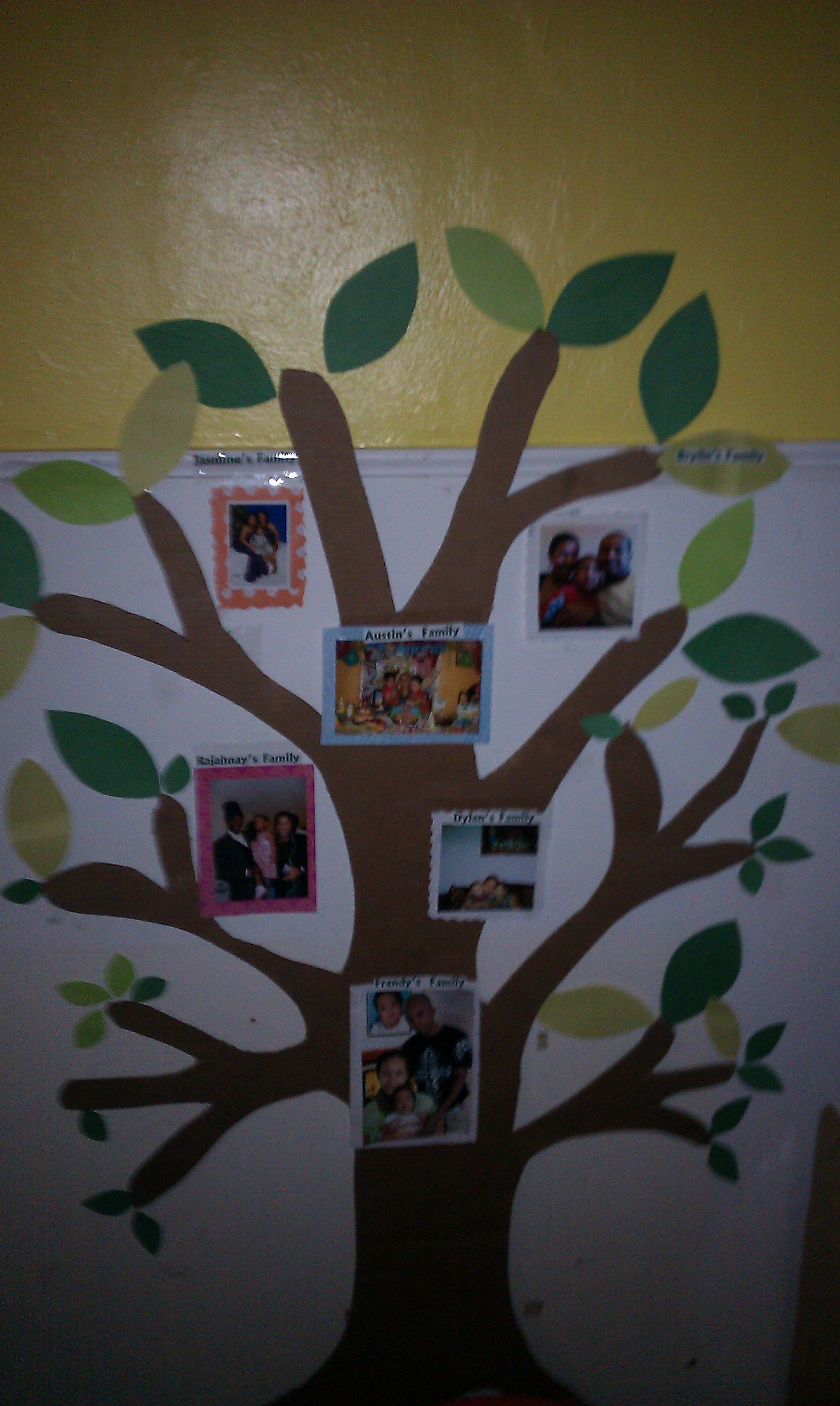 Family Tree On The Classroom