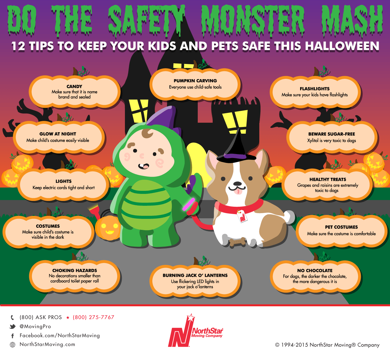 Experts share simple tips for a safe, scarefree Halloween