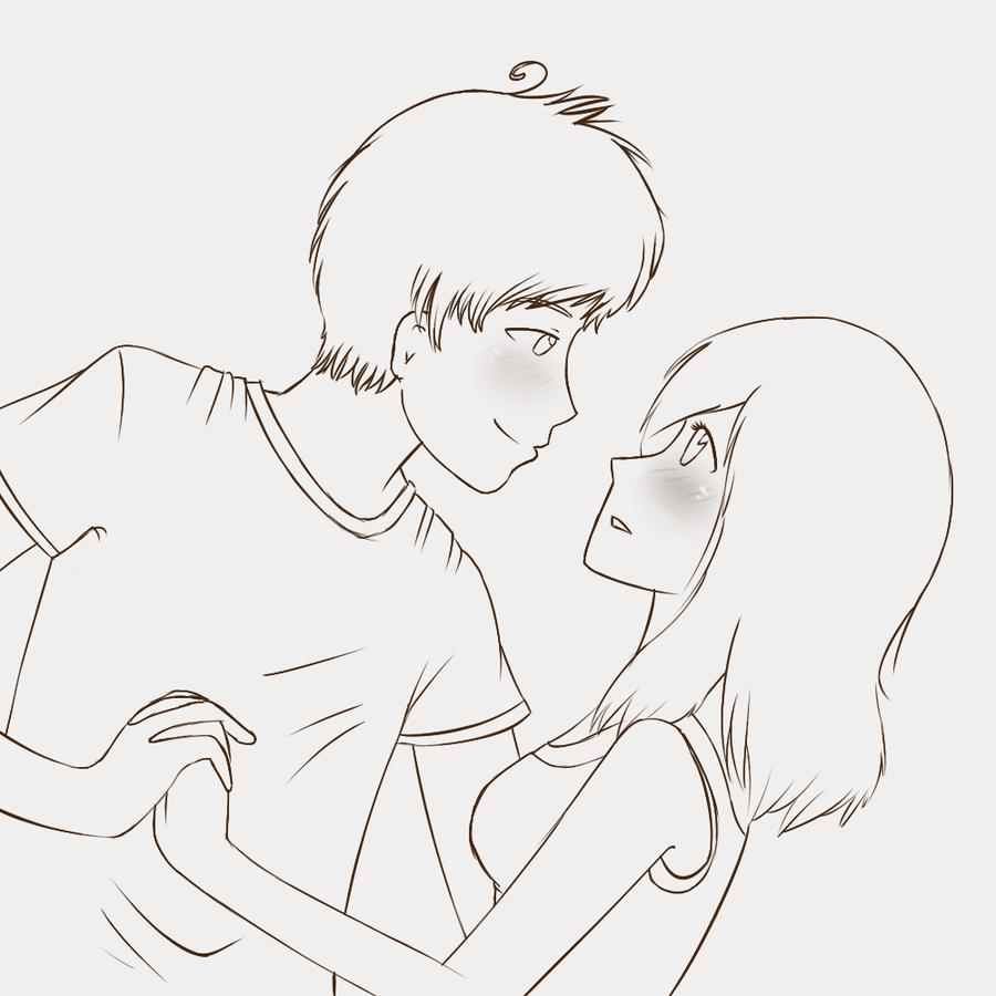 anime couple Tried It Pinterest Anime couples