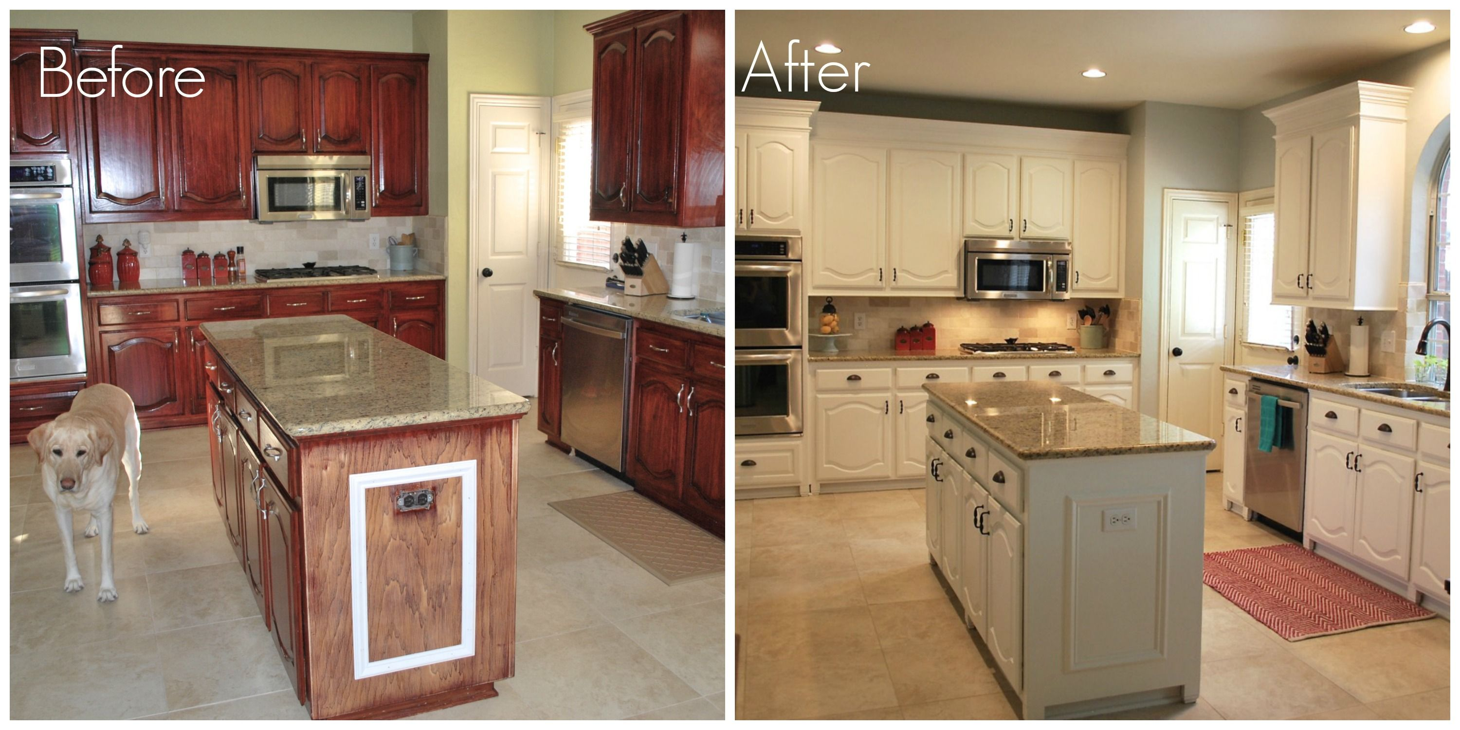 Before & After Kitchen remodel Pinterest Painting