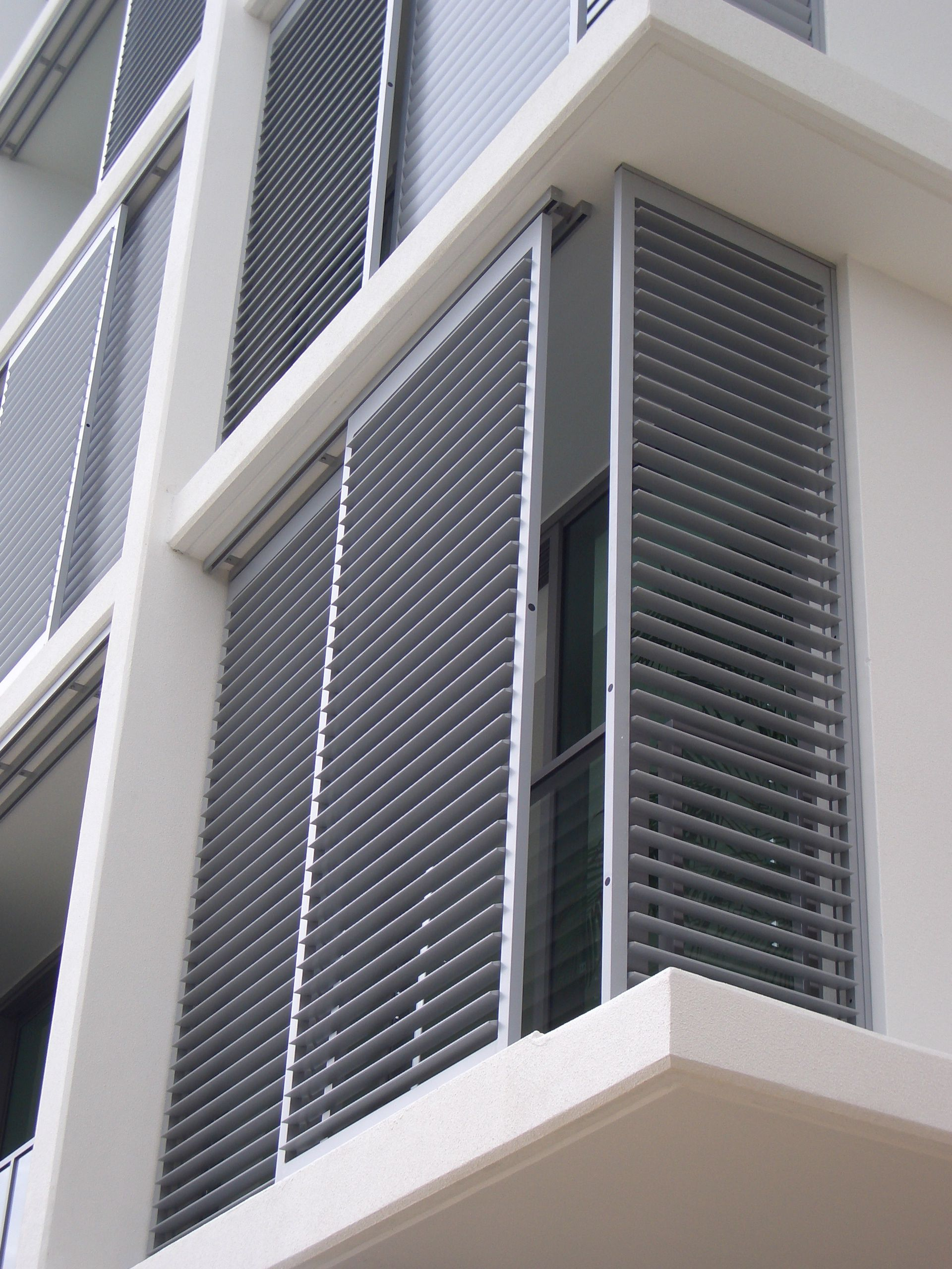 Exterior Shutter Enclosures The Shade Shop Shutters