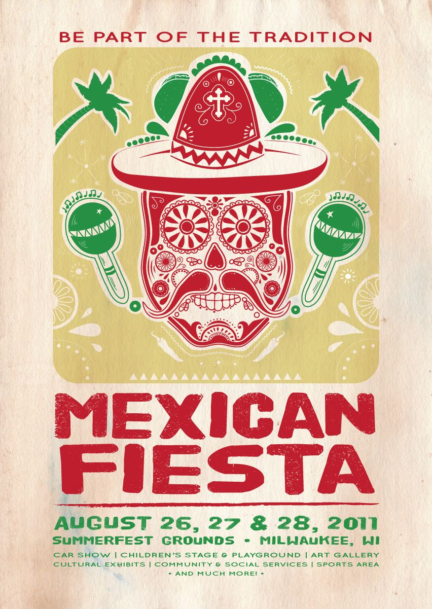 Mexican Fiesta poster Mexicana Pinterest Mexican